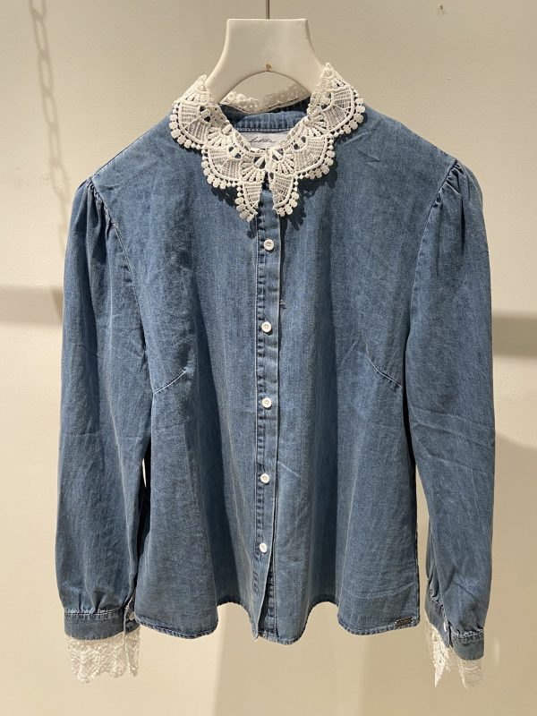 Katy jeansblouse