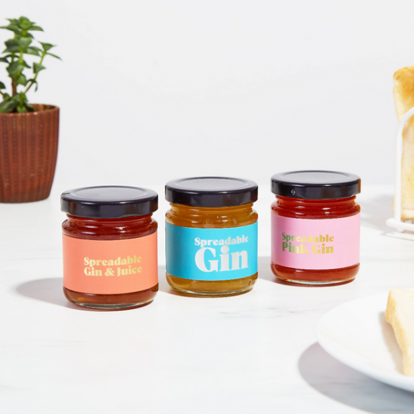 Spreadable gin gift set