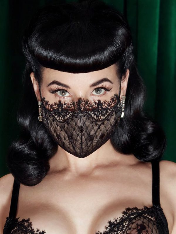Dita Von Teese Vedette Face Mask Limited Edition