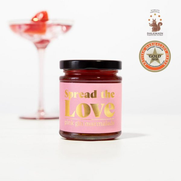 Spreadable pink gin